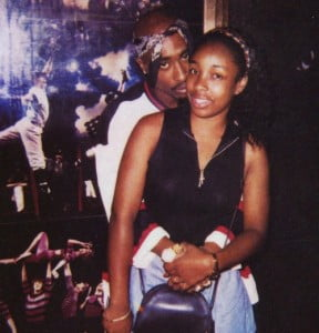 Keisha Morris and Tupac