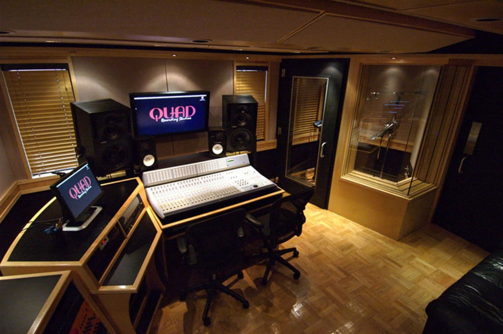 The Quad Recording Studis where the rapper was shot the first time