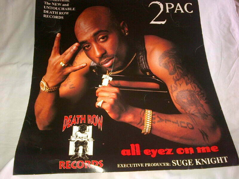 All Eyez On Me Promo Card Stock Poster