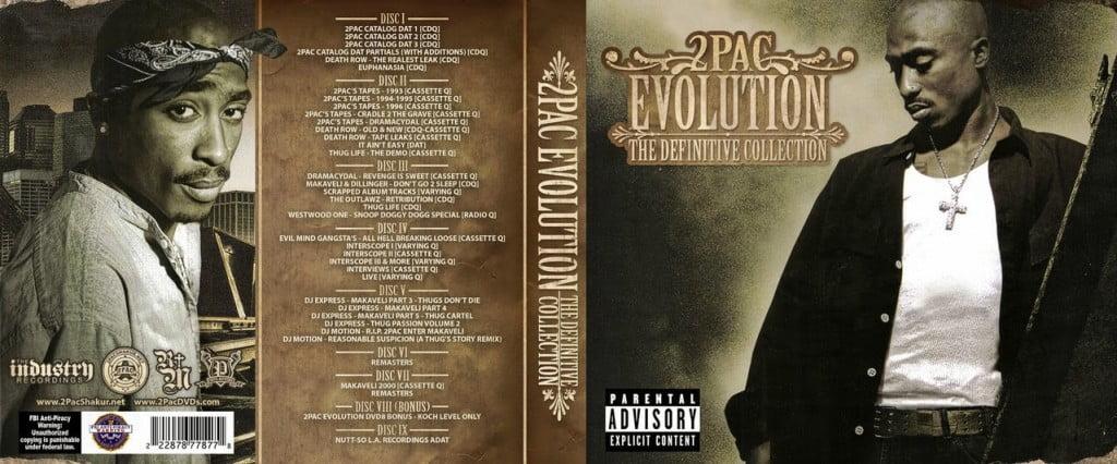tupac evolution