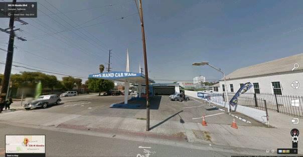 Carwash where ''Baby Lane'' was shot in Compton.