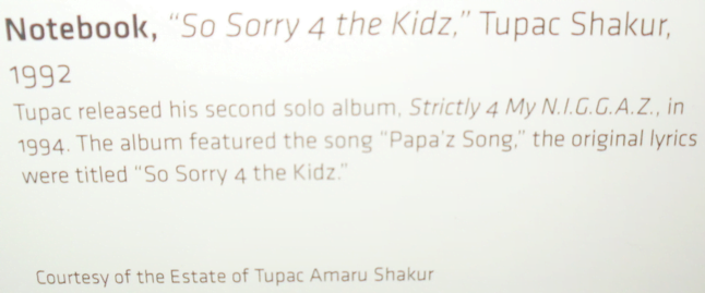 So Sorry 4 The Kidz (Papa'z Song)  - Information