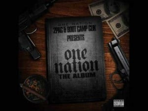 one nation 2pac album cover
