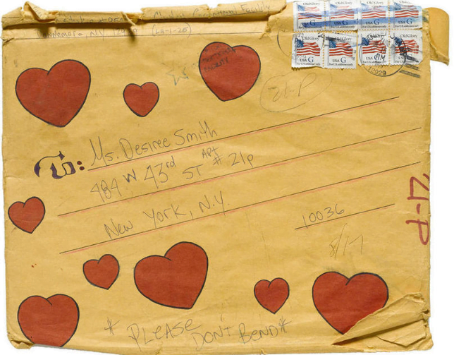 Letter To Desiree Smith (August 15, 1995) - Envelope