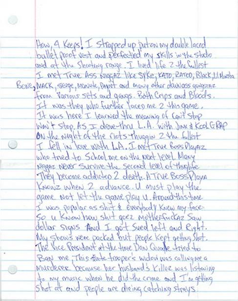 Letter To Nina Bhadreshwar (Page 3 Of 5)