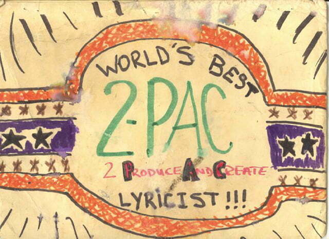 2Pacs drawing Manila Folder May 25th 1991 BACK