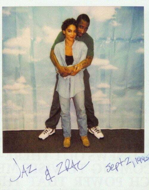 Jasmine Guy visits Tupac In Prison, September 02, 1995