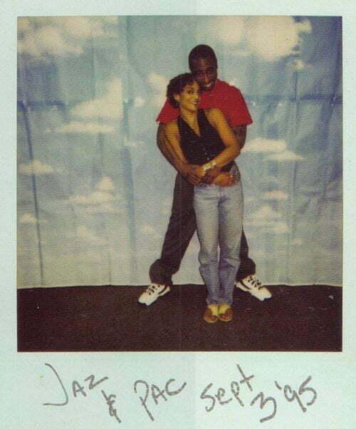 Jasmine Guy visits Tupac In Prison, September 03, 1995