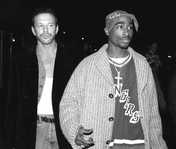Actor Mickey Rourke  at the New York night club Expo early Sunday morning, Nov. 6, 1994.
