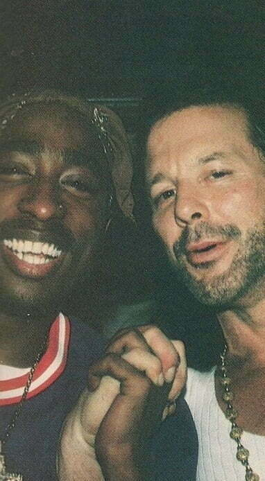 Mickey Rourke and tupac
