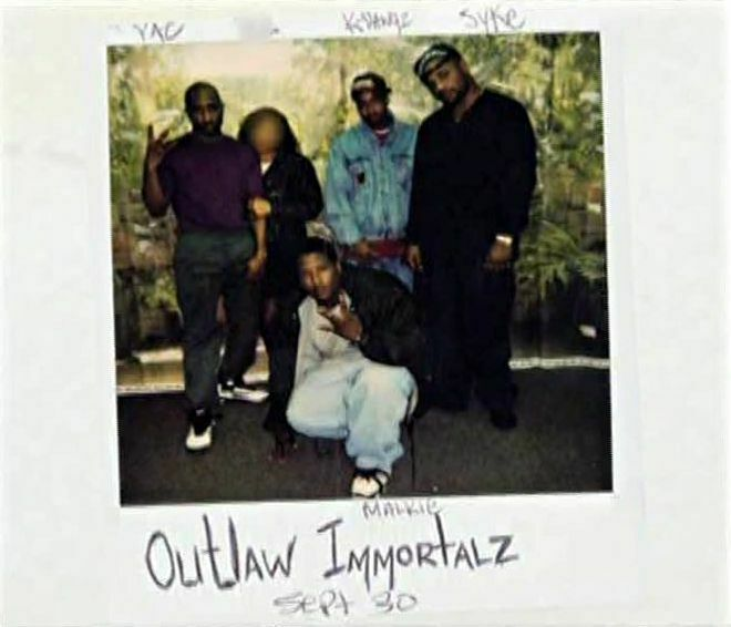 Outlaw Immortalz Visited Tupac In The Prison. September 30, 1995