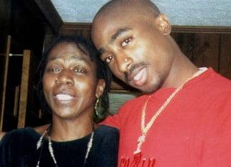 Tupac and Afeni Shakur