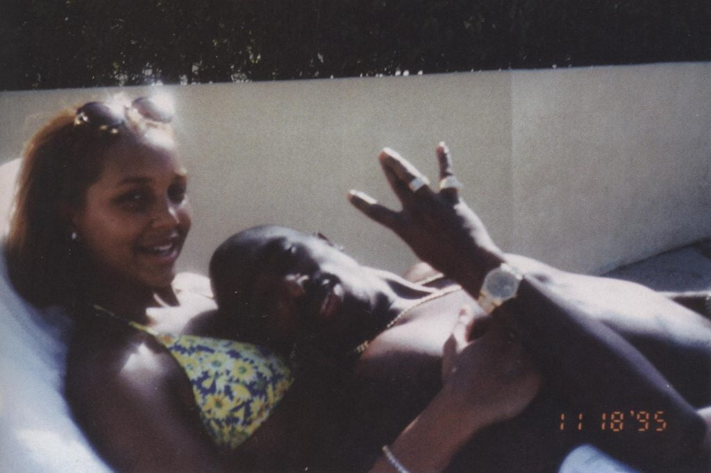Tupac With Sarah Chapman, November 18, 1995,