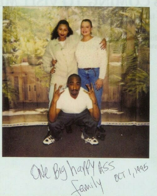 Desiree Smith (Dez) (Left) & Another Woman Visits Tupac In The Prison