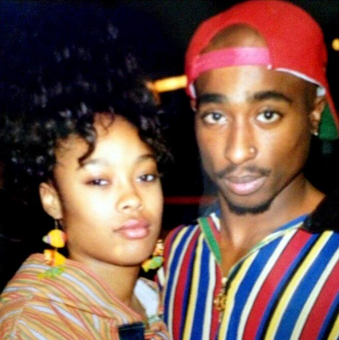 Tupac with Da Brat / July 28, 1992