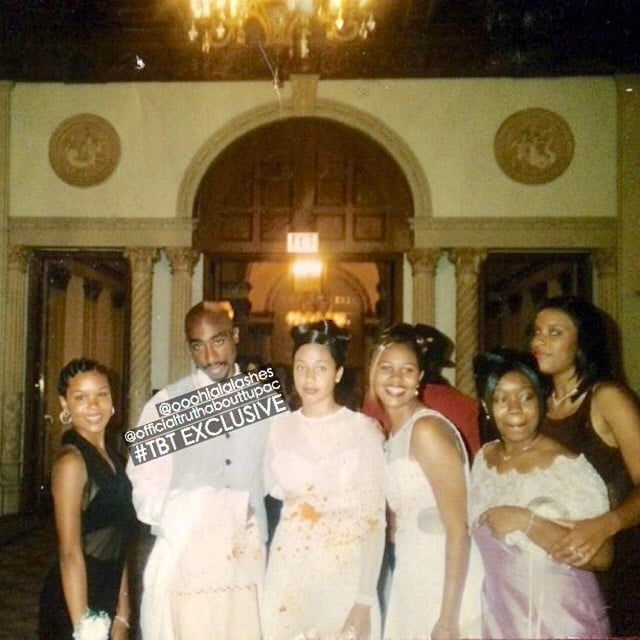 Tushana Howard, Nahshon Dion Anderson and friends at the John Muir HS Prom in Pasadena