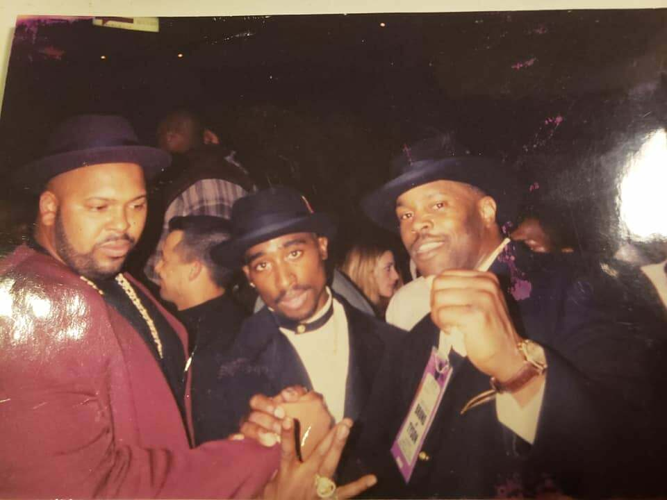 2Pac Attends Mike Tyson vs Frank Bruno II 16 03 1996