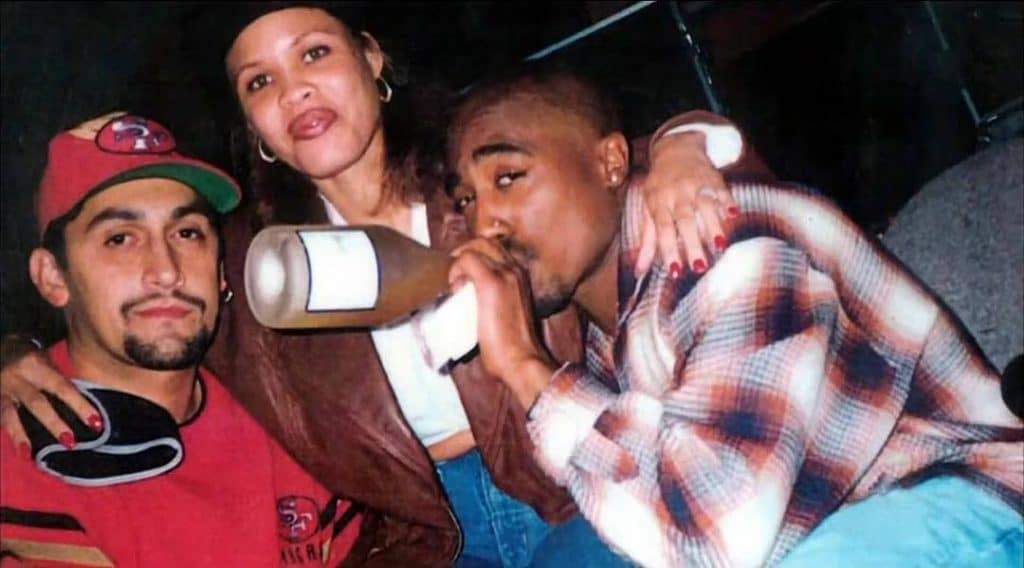 Tupac, Johnny J and Capucine Cantrell