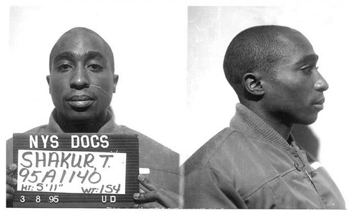 Tupac Mugshot Clinton Correctional Facility