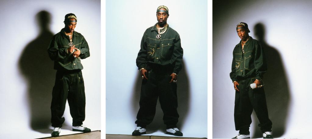 Tupac Photoshoot, Photo: Jeffery Newbury