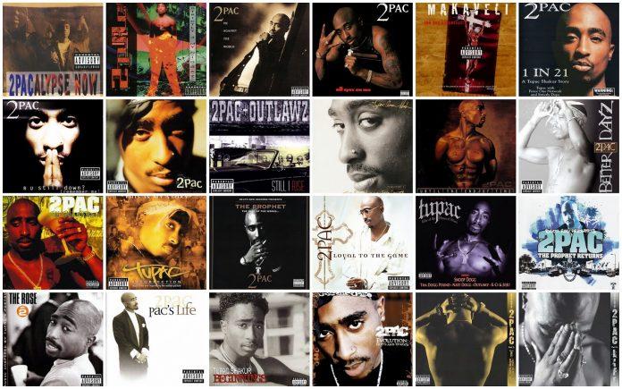 Tupac Shakur Albums image