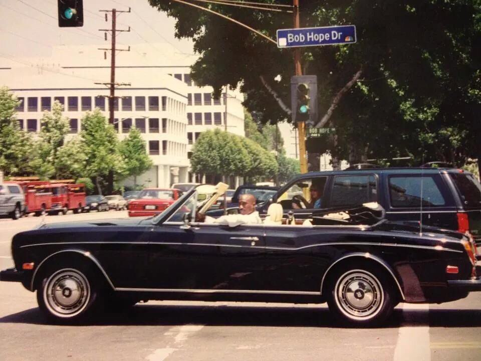 Tupac ride with Rolls-Royce