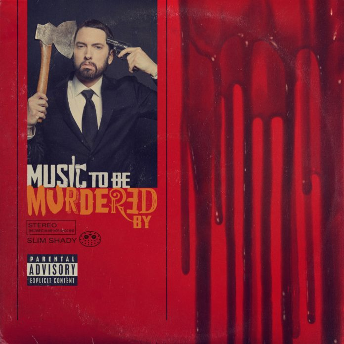 Eminem Music To Be Murdered By album cover