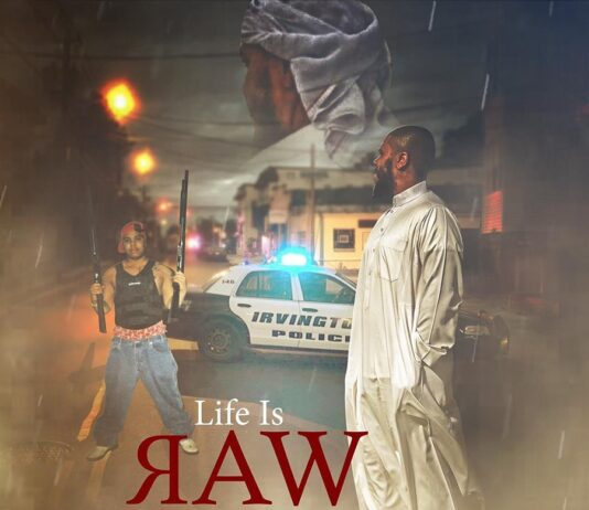 """Napoleon Release """"Life IS Raw: The Story Of A Reformed Outlaw!"""" Memoir image cover"""