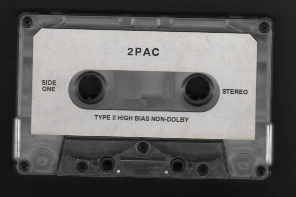 2Pac - 1995 - Untitled Interscope Cassette Tape
