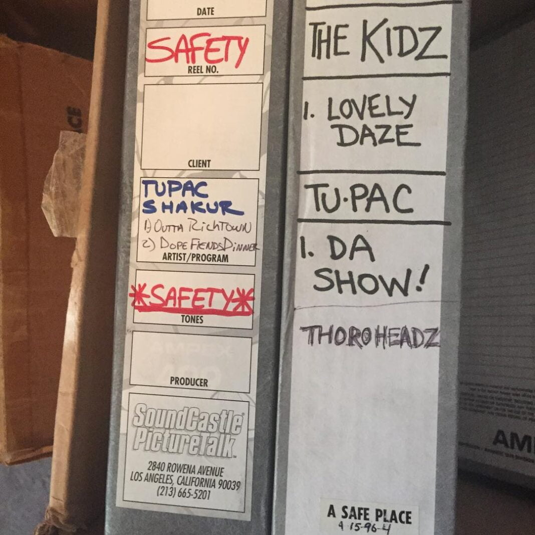 2Pac, The Kidz Reels by Atron Gregory