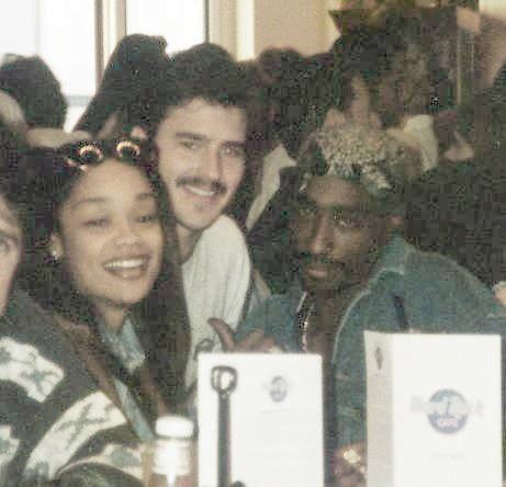 Arnelle Simpson and Tupac