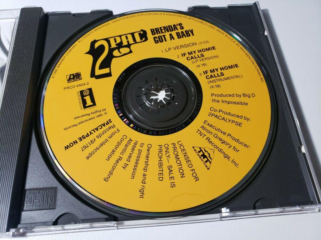 2Pac - 1991 - Brenda's Got A Baby (Promo CD Single) (PRCD 4404-2) (US)