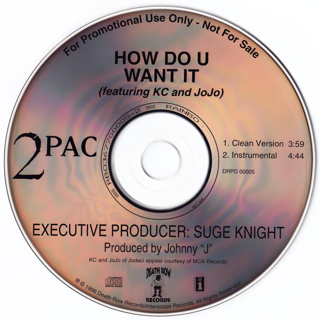 2Pac - 1996 - How Do U Want It (Promo CDS) (DRPD 00005) (US)