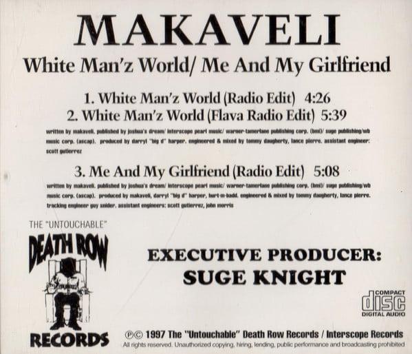 Makaveli - 1997 - White Man'z World - Me And My Girlfriend (Promo CD Single)