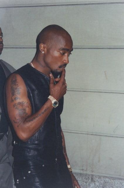 Tupac Shakur, Milano, 1996 Photography by David McLean